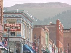 Stayed at the Imperial Hotel & Motel one night... back before the casino's moved into town, Cripple Creek, CO
