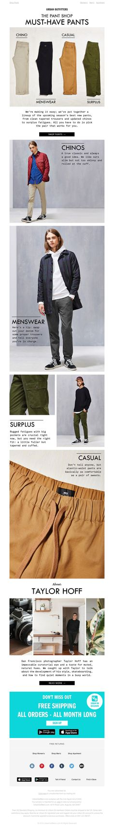 Urban Outfitters - The Pant Shop: Must-Have Pants