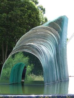 Glass Sculpture by ScenerybyDesign