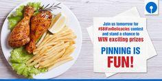 Just 1 day left for #SBIFavDelicacies #Pinterest #contest. Pinning is fun! #Food #Foodventure #Foodlove #Foodie #ContestAlert
