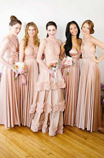 Fashion – Great Looks, What To Wear: Winter wear decent Bridesmaid Dress taboo no stunts