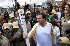 Antorcha olímpica ya está en Río de Janeiro