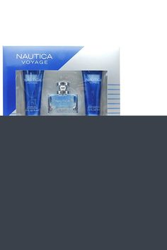 Nautica Voyage 3pc set – 1.0oz Eau de Toilette + 2.5oz Shower Gel + 2.5oz After Shave Balm After Shave Balm, Shower Gel, Shaving, The Balm, Eau De Toilette, Travel, Shaved Hairstyles