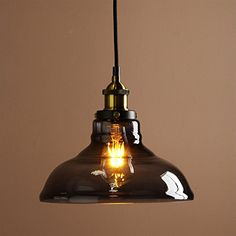 Buyee® Vintage Industrial Metal Finish Black Gray Glass Shade Loft Pendant Lamp Retro Ceiling Light Vintage Hanging Light fitting (diameter 28cm glass shade Brass head) Buyee http://www.amazon.co.uk/dp/B019Q3YIAY/ref=cm_sw_r_pi_dp_x2VYwb1G33AFJ