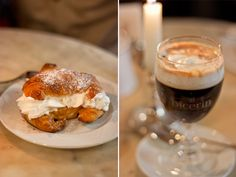 What to eat and drink in Turin (Torino). You must try bicerin, which combines coffee and hot chocolate!
