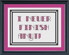 That would be such an awesome thing to crochet and put up on the wall! Haha