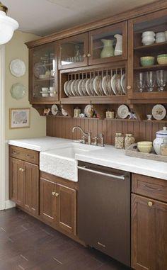 Dumbfounding Cool Tips: Inexpensive Backsplash herringbone backsplash beige. Kitchen Cupboard Designs, Kitchen Cabinets Decor, Kitchen Room Design, Diy Kitchen Storage, Home Room Design, Modern Kitchen Design, Home Decor Kitchen, Interior Design Kitchen, Home Kitchens