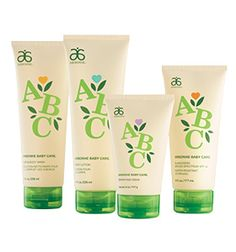 ABC Arbonne Baby Care® Set from Arbonne. Great for the sensitive skin of your little ones!