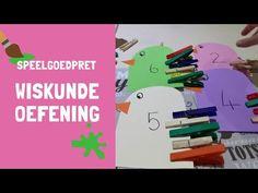 Wiskunde oefening - YouTube  #afrikaans #juffrou #tel #wiskunde #voels #wasgoedpennetjies #tel Afrikaans, Youtube, Blog, Blogging, Youtubers, Youtube Movies