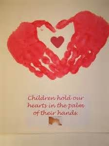 valentines handprint craft - Bing Images