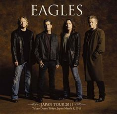 """The Eagles (favorite songs: """"Witchy Woman"""", """"Take It Easy"""" and """"Desperado"""")"""