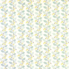 Spring Trail Duck Egg Blue Floral Wallpaper at Laura Ashley