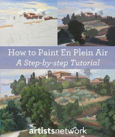 Free en plein air painting tutorials from ArtistsNetwork.com!
