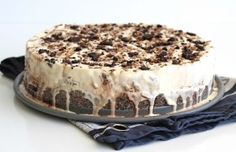 This easy 5-ingredient ice cream pie is loaded with crushed Oreos, chopped pecans and plenty of chocolate syrup to sanctify any sweet tooth and cool you off all summer long.