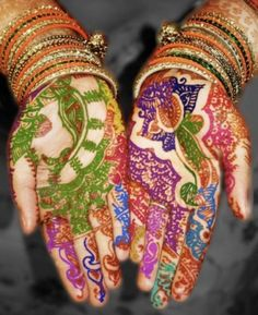India Colors - Henna