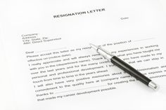 Resignation Letter To Use When You Need To Quit Immediately