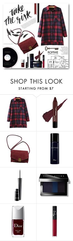 """Keep it plaid and cool"" by miryoserra ❤ liked on Polyvore featuring mode, Chloé, Zadig & Voltaire, Christian Dior, MAC Cosmetics, Bobbi Brown Cosmetics, NARS Cosmetics en Thirstystone"