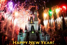 Epcot New Years Eve 2014