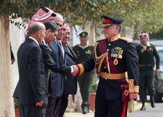 Koning Abdullah van Jordanië houdt troonrede - Vorsten