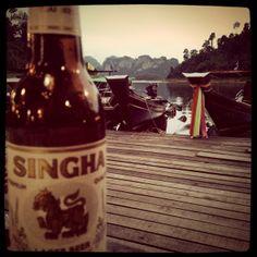 Thai beer.