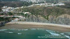 A Terceira Dimensão - Fotografia Aérea: Praia da Arrifana