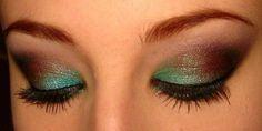 love these colors together Mac Pigment, Brown Eyeshadow, Love Makeup, Makeup Tips, Makeup Looks, Beauty Makeup, Makeup Ideas, Discount Makeup, Hazel Eyes