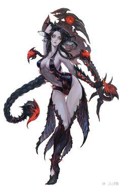 Fantasy Women, Dark Fantasy Art, Fantasy Girl, Fantasy Artwork, Female Character Design, Character Design Inspiration, Character Concept, Character Art, Fantasy Characters