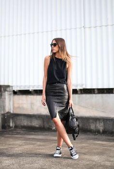 How to Dress Up Sneakers | ALEXA DAGMAR | Bloglovin'