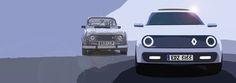 hatchback car design sketch - Google 검색