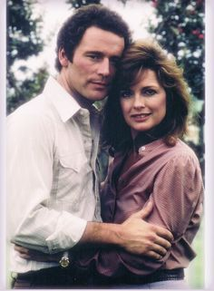 """Dusty and Sue Ellen from original """"Dallas"""""""
