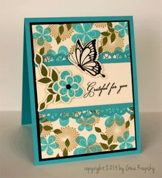 Good tips aligning post-its for stamping + fine distanced score lines. Gina K designs tutorial