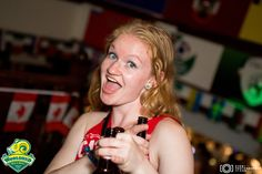 #Canadian #girl during the #canadaday party at local bar in #Dublin #Ireland check more photos at http://eventphotographer17.com/
