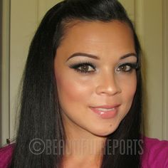 Beautiful Reports: REVIEW: Studio Gear Cosmetics Holiday Smokey Eye Palette + FOTD