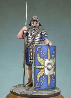 Legionário Romano (Roman Legionary Infantryman 125 AD) I have this model, haven't built it yet though