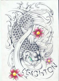 Koi Fish Tattoo Designs | Koi Fish Tattoos - Free Download Tattoo #14545 Koi Fish Tattoos With ...