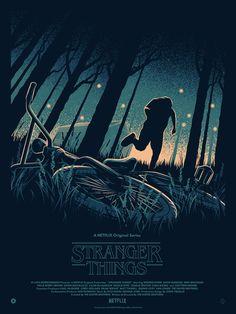 """kogaionon: """" Stranger Things for Poster Posse by Thomas Walker / Twitter """""""