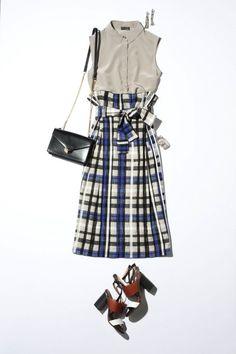Skirt Fashion, Fashion Outfits, Womens Fashion, Romantic Outfit, Fashion Capsule, Japanese Outfits, Japan Fashion, Modest Outfits, Fashion Photo