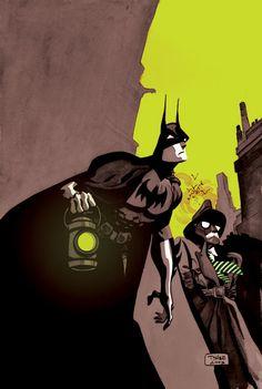 Batman & Commissioner Gordon by Tim Sale