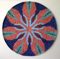 "https://flic.kr/p/48UDY5 | Hawaiian Mandala 2006 | #2 in my Mandala series.    For more info, check out <a href=""http://www.tapestrycrochet.com/blog/?p=328"">www.tapestrycrochet.com/blog/?p=328</a>"