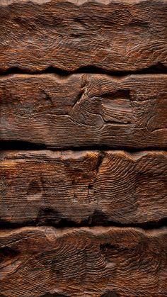 Wood wall. iPhone 6