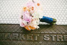 I love peonies.  Market Street Grill    Utah Wedding Photographer // Ashlee Brooke Photography