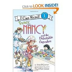 Fancy Nancy and the Delectable Cupcakes (I Can Read Book 1) [Paperback], (fancy nancy, childrens books, preschool, beginning reader, beginning readers, cupcakes, fancy nancy book, girl books, girls)