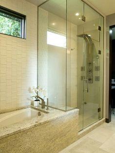 Average Size Bathroom