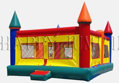 Inflatable Interactive Games: Go Ahead and Jump on Happy Jump's Jumping Castle!