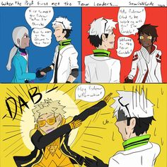 Prof. Willow's First Meeting with the Team Leaders by SnowGoldCastle on DeviantArt