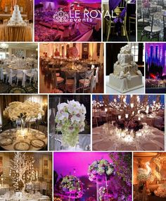 WEDDING PLANNER / RENTALS - Le Royal Events - (248) 912 - 2212     http://www.leroyalevents.com/