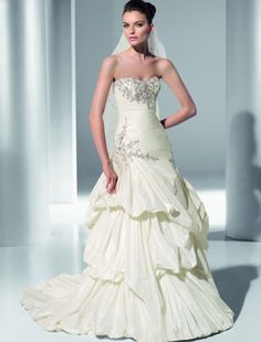 Enter+to+win+this+beaded+empire+neckline+gown+from+Demetrios!+Click+the+image+for+details!+#giveaways