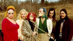 Divine, Mary Vivian Pearce, Mink Stole, David Lochary, John Waters and Danny Mills on the set of Pink Flamingos Divine Pink Flamingos, Danny Mills, Eight Movie, Mink Stole, Star Wars, Film Stills, I Movie, Actors & Actresses, Female