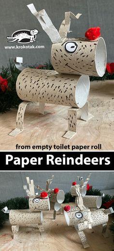 Christmas Art For Kids, Diy Paper Christmas Tree, Winter Crafts For Kids, Diy For Kids, Christmas Crafts, Kids Toilet, Christmas Calendar, Paper Crafts, Diy Crafts