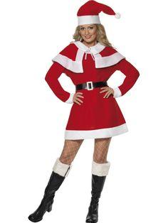 a2b29d0601814 COSTUME MERE NOEL AVEC CAPELINE TAILLE L Costume Mère Noël